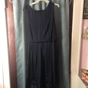 Casual Navy Blue Dress